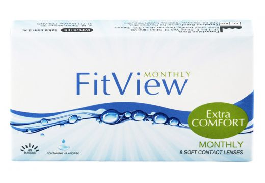 FitView Monthly 6 szt.