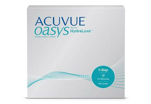 ACUVUE OASYS 1-Day with HydraLuxe 90 szt.