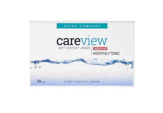 CareView Monthly Aqua HD Toric 3 szt. NOWOŚĆ